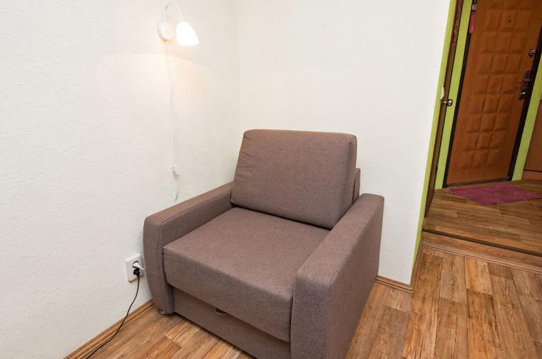 Компактная квартира студия эконом класса